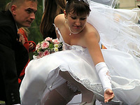 The Hottest Real Brides Ever!