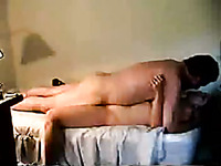 Check out amateur porn video kinky couple fucking in missionary pose