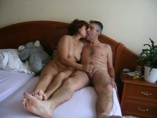 Style oral sex of a horny vintage couple