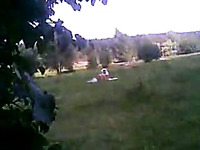 Spying on my neighbor's curvy wife taking sun bath naked