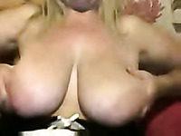 Mature webcam whore with huge saggy boobs gets wild for me