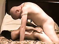 Sexy brunette chick lets me bang her pussy hard in a hotel room