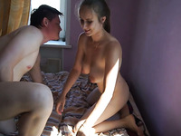 Lovely Russian ex girlfriend gets nailed again