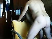 I'm busy with fucking my slutty blonde wife from behind hardcore