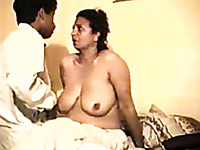 That amateur milf eagerly opens her legs for this guy