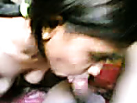 Dissolute Indian girl with sexy body gives me head and rides me