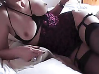 Aroused bitch with sexy body rides my hard dick in cowgirl style
