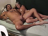 My mature wife finally gets pussy licking after giving head
