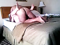 Mature Russian man fucking my pussy in a missionary position