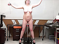 Free girl on dildo pic