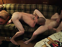 Awesome double cock penetration is what my buddy's cheating wife deserves