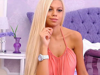 Most Beautiful Blonde Teaser Live on Cam
