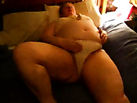 Chubby mature whore wife living next door was ready for some masturbation