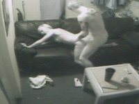 Dirty and hot blonde bitch cheats on her husband on hidden cams