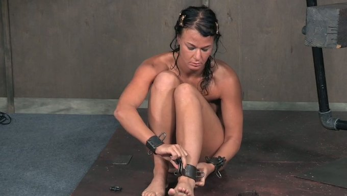 shackled for and sex Stripped