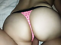 Nailing my beautiful girl in a doggy position when we make awesome homemade sex tape