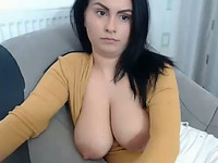 The world is obsessed with big tits and this webcam model has a nice rack