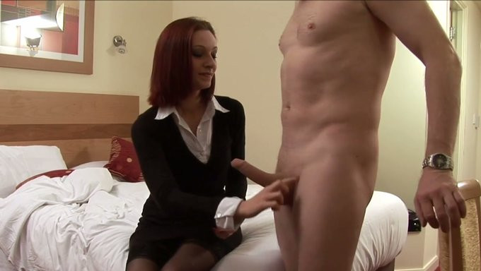 Lusty Business Woman Wanked Off My Buddys Strong Cock At -4251
