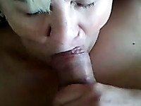 Auburn mature slut provided my buddy with a stout blowjob