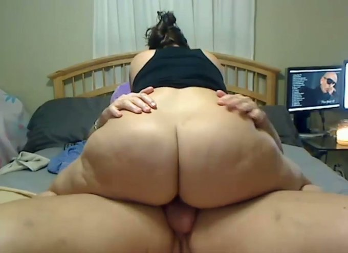 Bbw goes on a long dick ride