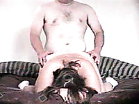 Chubby boss brutally fucks his BBW wife doggystyle