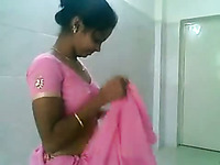 Fine cute young Indian girl sucks small dick of a chubby man