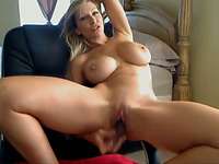 Hot solo session with a sexy MILF is what you will find in this webcam video