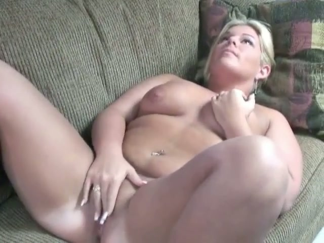 Hefty Bbw Blonde Beauty Gets Naked And Masturbates For -5784
