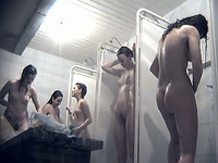 Horny voyeur gets lucky and films a bunch of nude chicks
