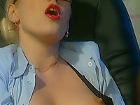 Dirty convicted white hotties boned hard by policemen in the office