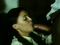 Blondie and brunette sluts having dirty foursome with two men