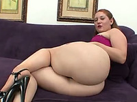 My chunky girlfriend has a nice phat ass and she can really suck dick