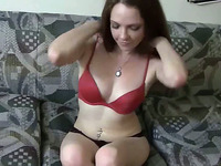 Sweet Sexy and Naughty Babe Plays her Toy