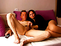 Brunette wife with sexy big rack loves nothing but a proper fuck