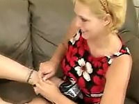These lesbians love worshipping each other's feet and they're pleasure to watch