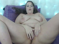 This chubby chick is so yummy and delicious and she loves masturbating on cam