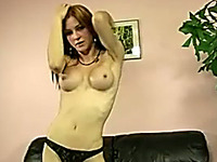 This busty chick is not a pro but she knows how to make her solo session hot