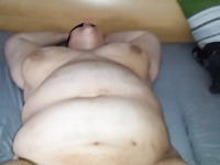 Fat amateur whore with big tits is ready for some pussy fingering workout
