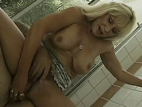 This hungry mature slut does give a good BJ and she has skill riding dick