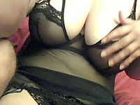 My horny boyfriend loves my big tits more than anything on Earth