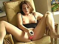 I love to fuck my wet pussy with my sex toy in front of the webcam