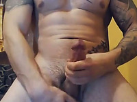 I get turned on watching any guy masturbate and cum on cam