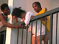 My black neighbor fucked his girlfriend in front of everybody