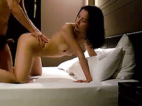 My cute barely legal Korean girlfriend loves only hardcore sex