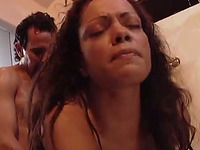 Hardcore anal sex in wicked vintage orgy in the bedroom