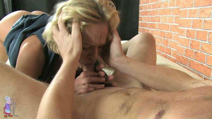 blond blowjob Mature