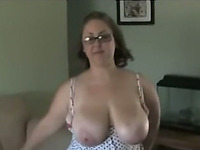 Mandi Titty Fucks Johny With Her Massive Melons