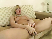Huge black dick tears apart my blonde slut wife's tight asshole