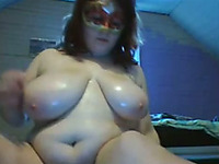 What a pleasure it would be to lick this BBW whore's amazing pussy