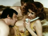 Vintage porn compilation with MMF and group steamy orgy